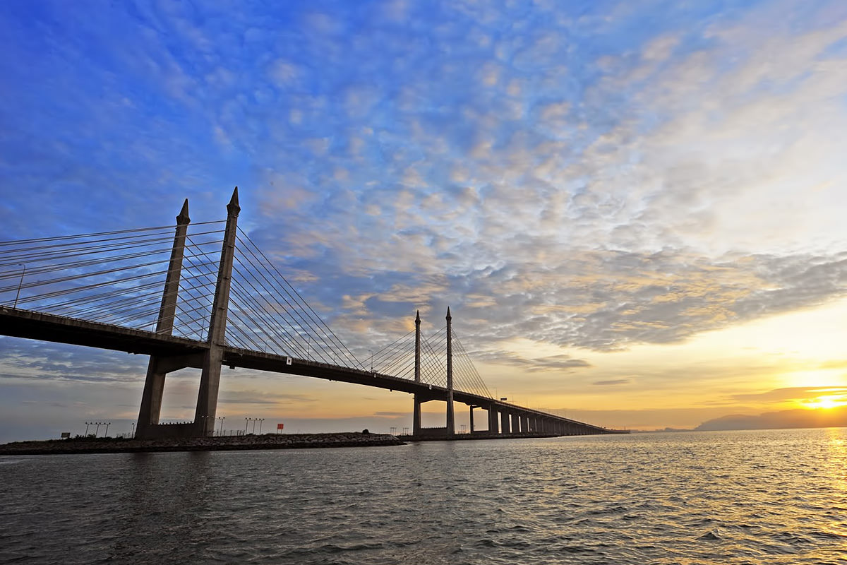 1200 penang bridge